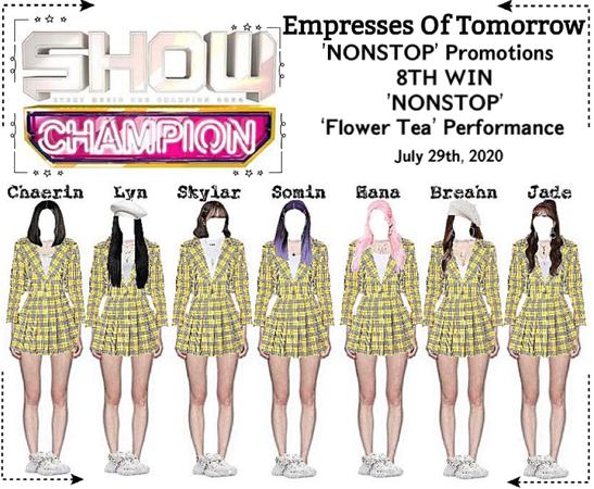 EOT(내일의 황후) | Show Champion: 8th Win + Performance