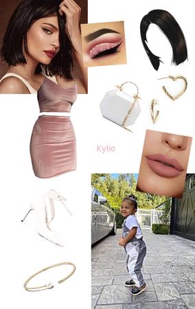 Kylie Jenner Velvet Pink 2 Piece