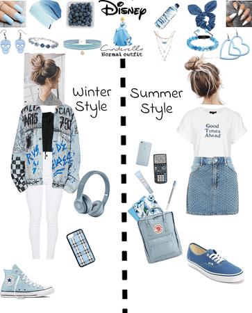 Cinderella normal outfit