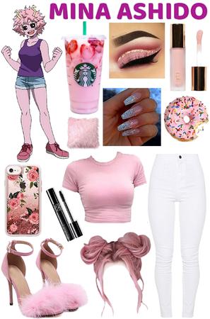 Mina Ashido Inspired Outfit
