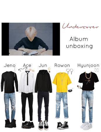 album unboxing