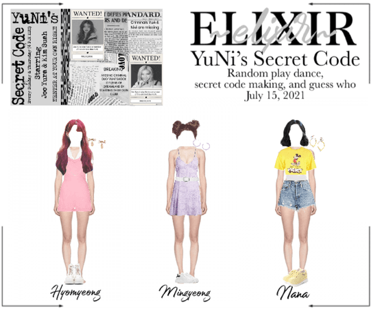 ELIXIR (엘릭서)   YuNi's Secret Code