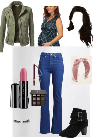 3rd trimester/ getting into labor outfit