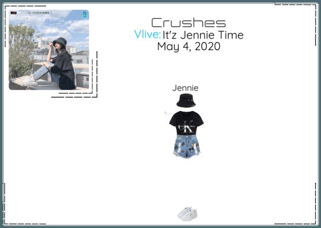 Crushes (호감) Jennie Surprise Vlive