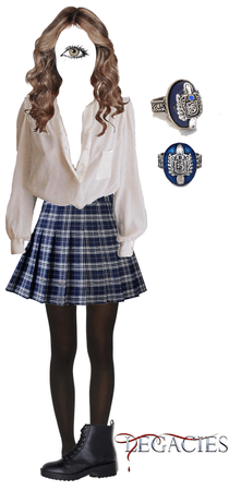 School Uniform ~ Stefanie Salvatore ~ Legacies