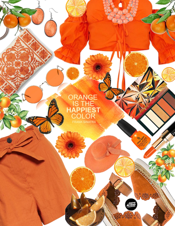Get The Look: Orange Bliss