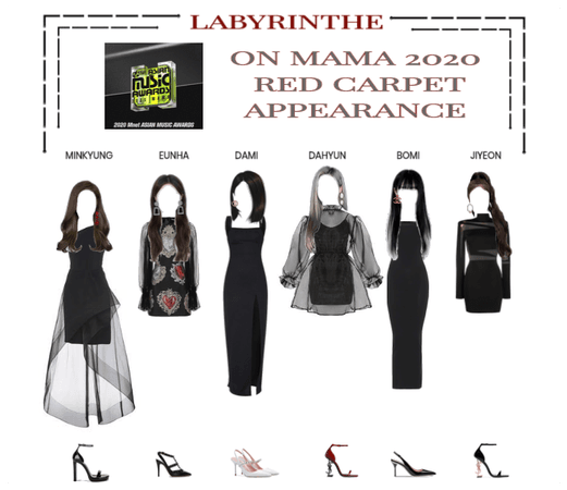 LABYRINTHE MAMA 2020 RED CARPET