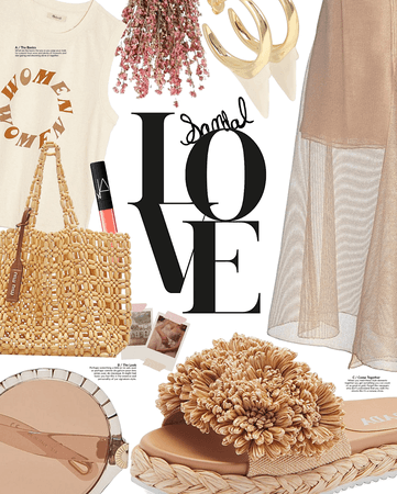 love and sandals