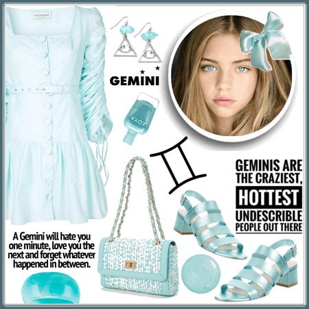 Gemini Aqua Blue