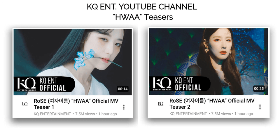 """{RoSE} """"HWAA"""" Official MV Teasers"""