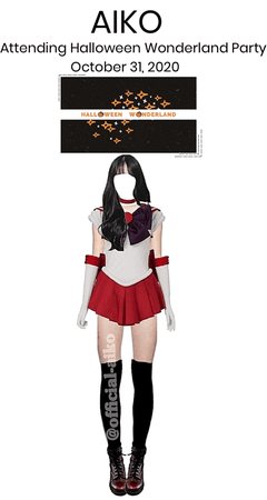 <<AIKO>> Attending Halloween Wonderland Party