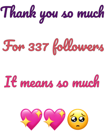 thank you so much! 💖💖