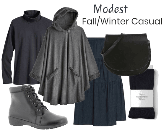 Modest Fall/Winter Casual