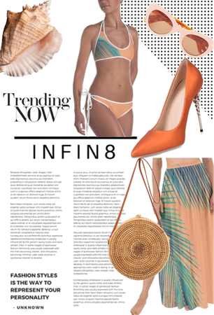 infin8 summer Collection