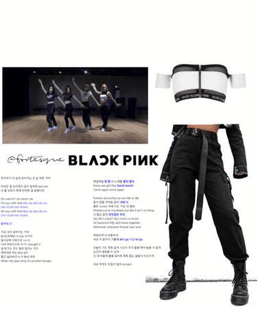 blackpink ddu du ddu du dance practice 5th member