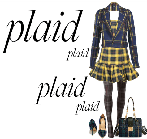 Plaid, Plaid, Plaid...AND,,,,,,,,,MORE PLAID!