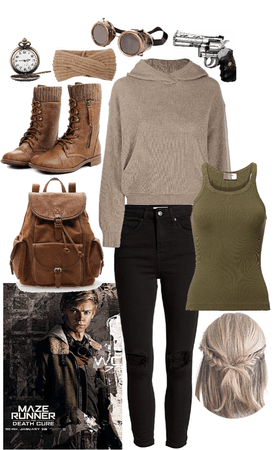 surviving the death cure with newt