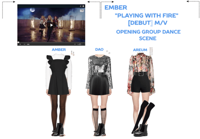 """EMBER """"PLAYING WITH FIRE"""" [DEBUT] M/V Pt 1"""