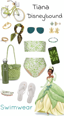 Tiana Swimwear Disneybound