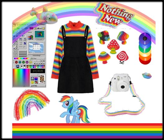 because.. rainbows