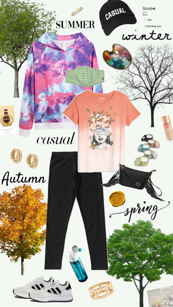 Summer, Winter, Autumn, Spring - I wear the same for everything!