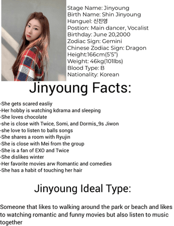 Jinyoung Profile