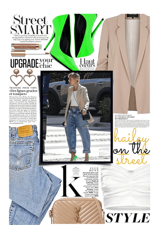 CELEBRITY STYLE: Hailey on the Street