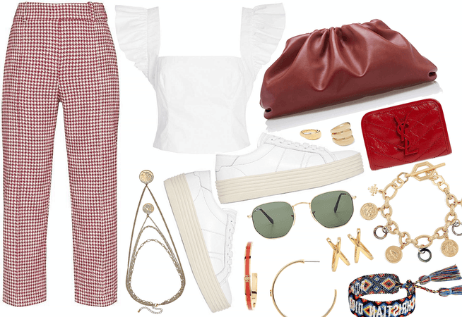 TREND: RED PLAID FOR SPRING