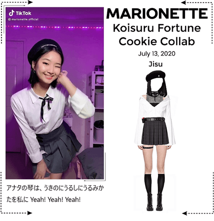 MARIONETTE (마리오네트) [JISU] Koisuru Fortune Cookie Collab