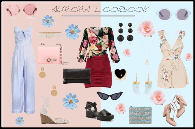 Sleeping Beauty - Aurora Lookbook
