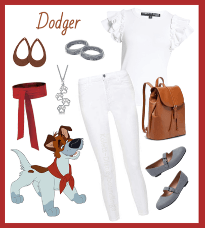 Dodger outfit - Disneybounding - Disney