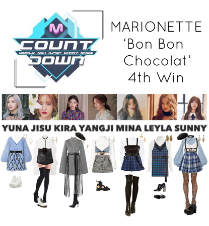 {MARIONETTE} 'Bon Bon Chocolat' M Countdown 4th Win