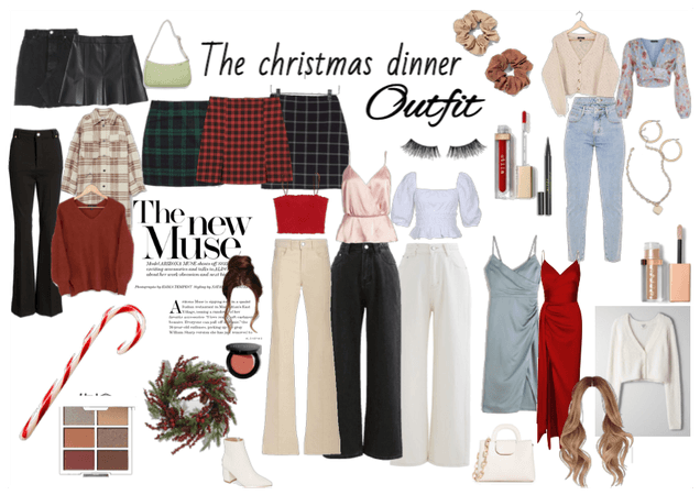 christmas dinner outfits