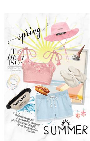 Summer in April!