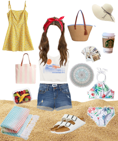 outfit beach