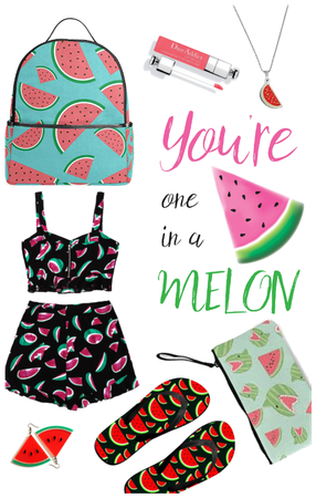 Summer watermelon outfit
