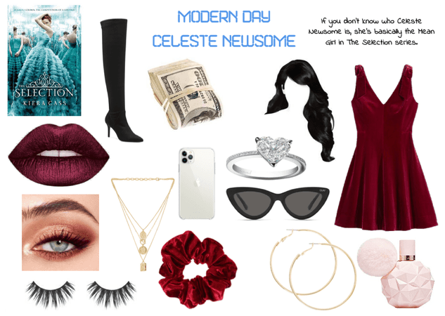 Modern Day Characters Seven: Celeste Newsome