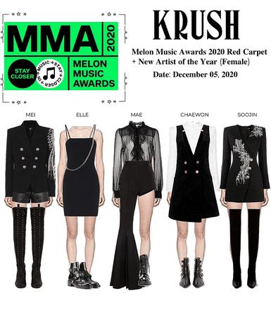 KRUSH MMA 2020 Award Red Carpet Outfit + Award Won: Best New Artist