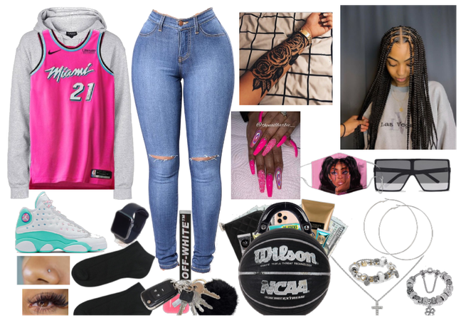 week with bestie pt.17 day4 going to bball game