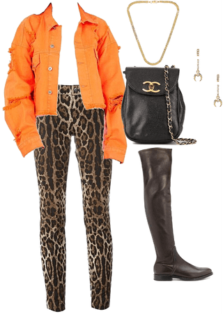 Casual Leopard