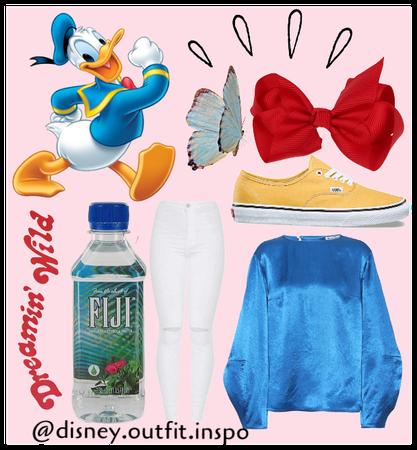 Donald Duck ootd