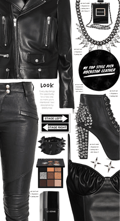 Top Style Pick: Rockstar Leather Fashion