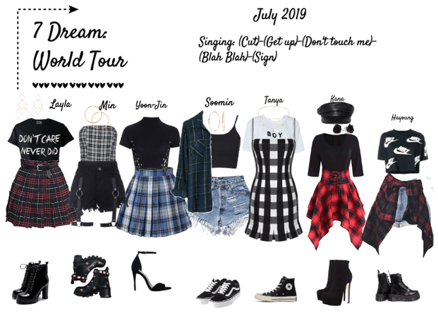 7 Dream: World Tour
