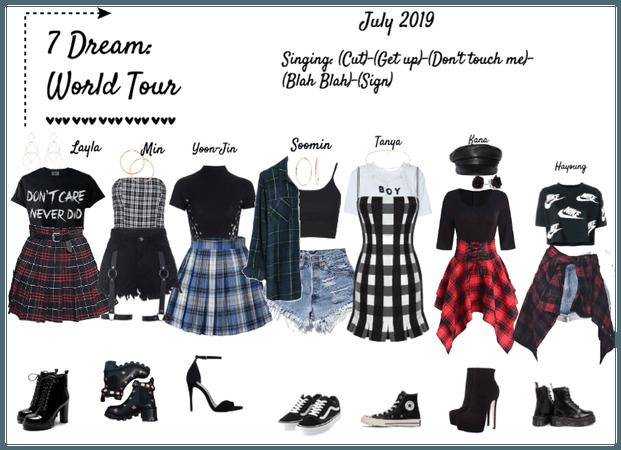 7 Dream: World Tour