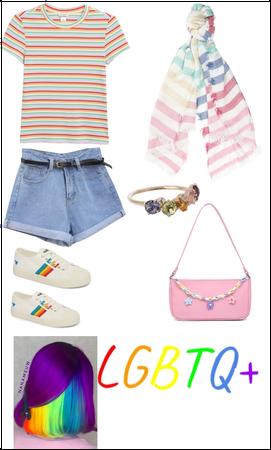 LQBT+ outfit