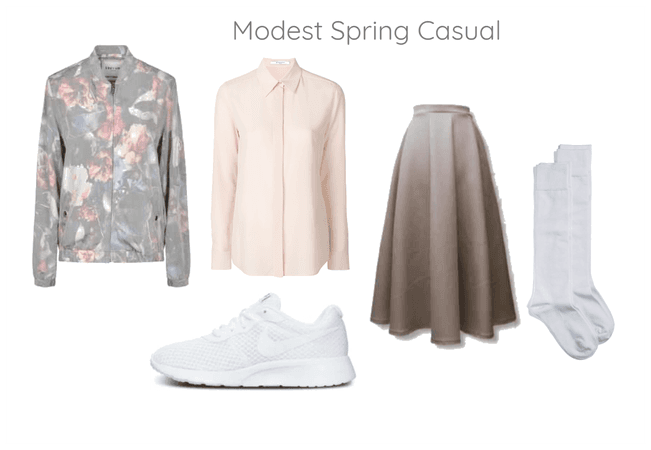 Modest Spring Casual