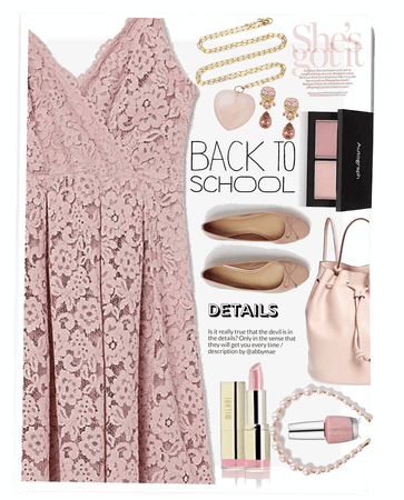 She's Got It: Girly Girl Back To School Outfit