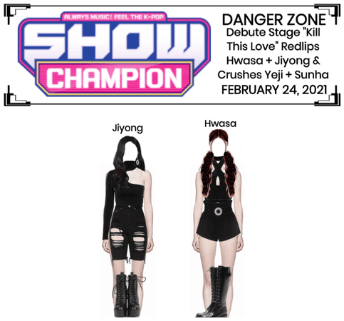 """Danger Zone """"Kill This Love"""" Debut Stage"""