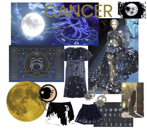 CANCER Ruled by the MOON