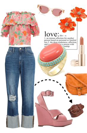 Florals and Suedes and Romance
